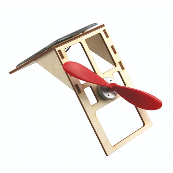 Ventilateur solaire de table