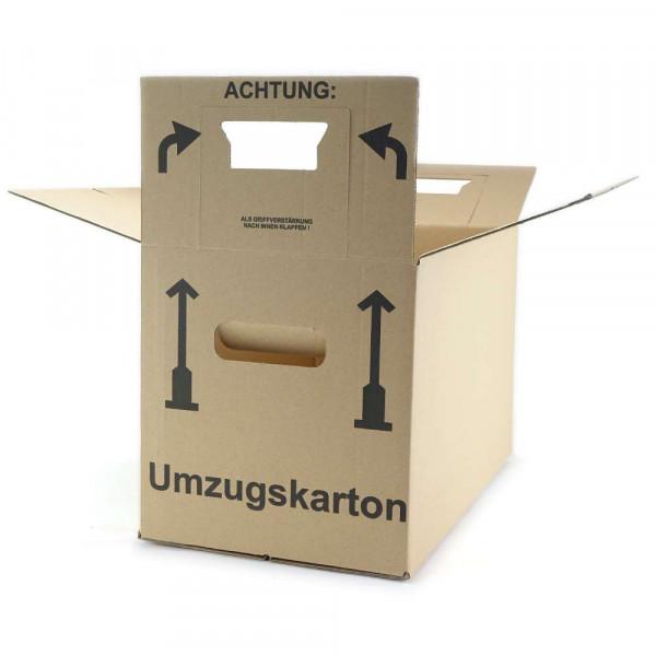 Cartons de déménagement (marron), Lot de 10