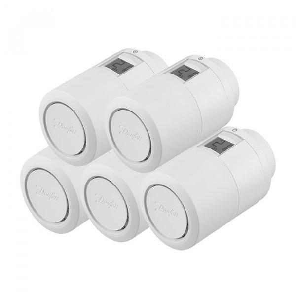Heizkörperthermostat Danfos Eco Home 5er Set