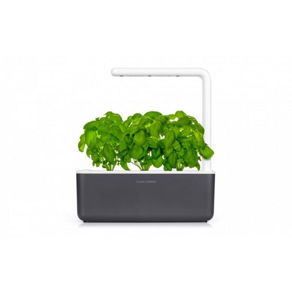 Click and Grow Kräutertopf Smart Garden 3 Grau