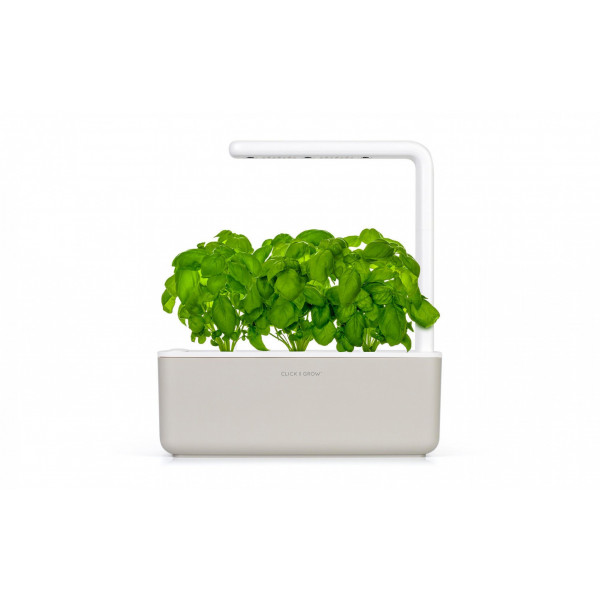 Click and Grow Kräutertopf Smart Garden 3 Beige