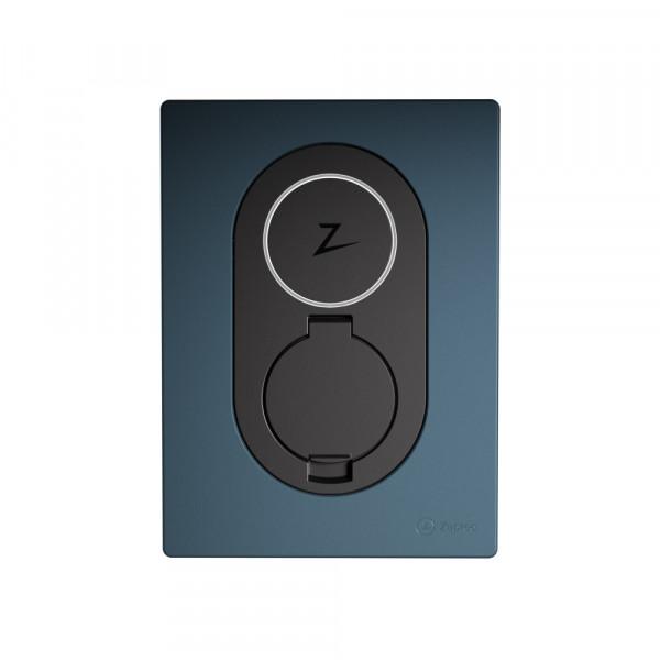 Station de recharge Zaptec Go Bleu Minuit